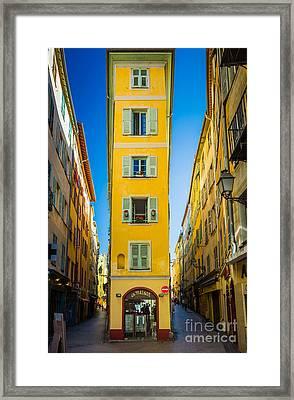 Le Maison Framed Print by Inge Johnsson