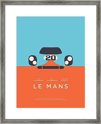 Le Mans Movie - B Framed Print
