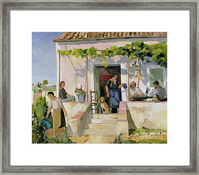 Le Mazet Framed Print by Armand Coussens