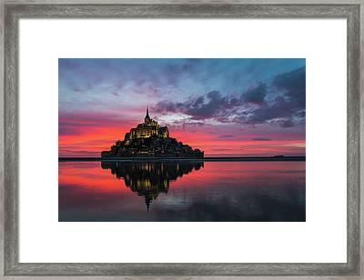 Le Mont Framed Print
