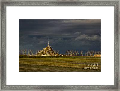 Le Mont Saint-michel Framed Print