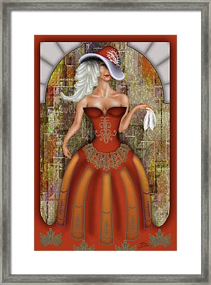 Le Mouchoir Framed Print by Troy Brown