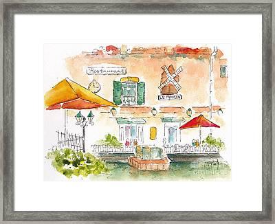 Le Moulin Isle Sur La Sorgue  Framed Print by Pat Katz