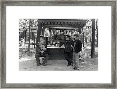 Le Parc Framed Print by Andrea Simon