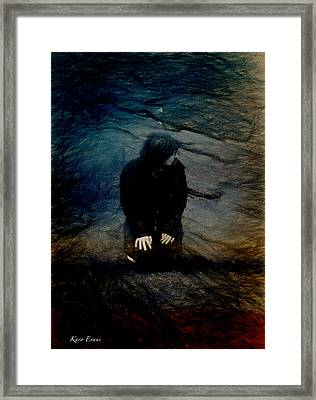 Le Pase Non Compose Framed Print by Karo Evans