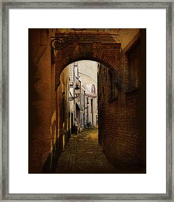 Le Passage Framed Print