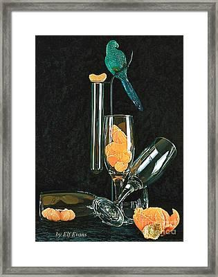 Le Perroquet Vert Framed Print