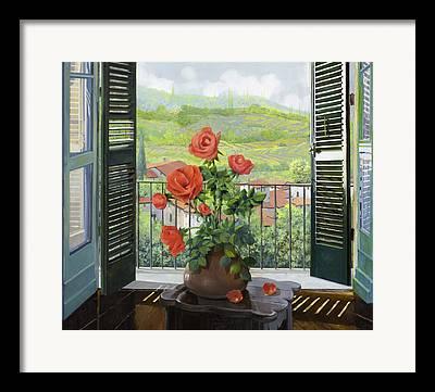 Balcony Framed Prints