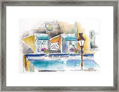 Le Petit Chatelet Paris Framed Print by Pat Katz