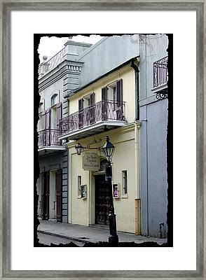 Le Petit Theatre Framed Print by Linda Kish