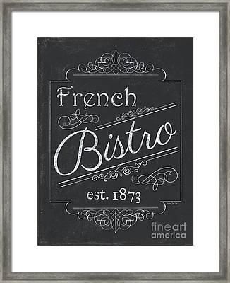 Le Petite Bistro 4 Framed Print