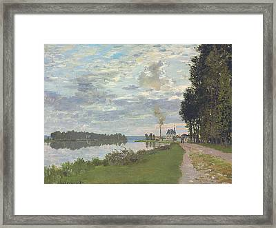 Le Promenade D'argenteuil Framed Print