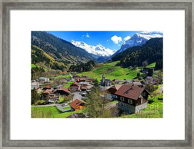 Le Reposoir Framed Print by Olivier Le Queinec