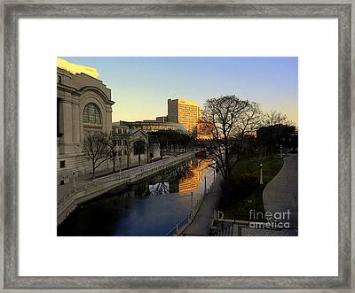 Framed Print featuring the photograph Le Rideau, by Elfriede Fulda