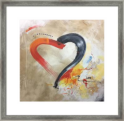 Le Romantique Framed Print by Germaine Fine Art