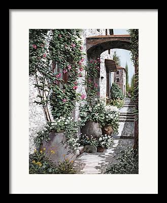 Spring Street Framed Prints