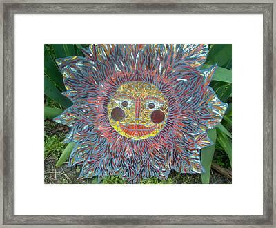 Le Soleil Framed Print by Kimberly Barrow
