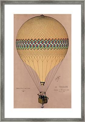 Le Tricolore 2 Framed Print