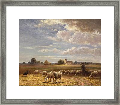 Le Troupeau Framed Print