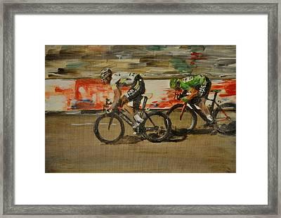 Le Vert Vite Framed Print by Lawrence Walton