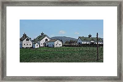 Lea Homestead Framed Print