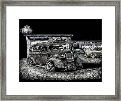 Lead Delivery Framed Print