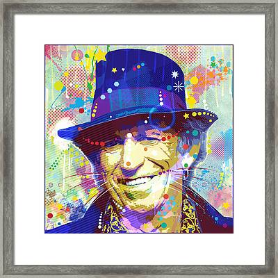 Lead Guitarist Framed Print by Gary Grayson