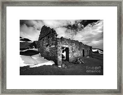 Lead Mines Framed Print