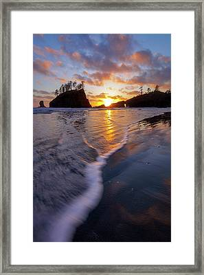 Framed Print featuring the photograph Lead The Way by Mike Lang