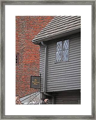 Leaded Windows Framed Print by Barbara McDevitt