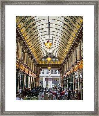 Leadenhall Market Framed Print