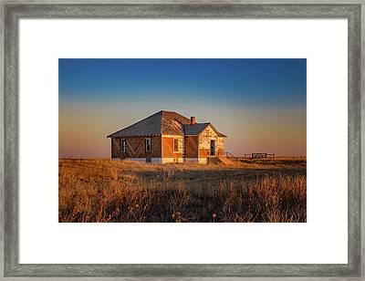 Leader Church - El Paso County, Colorado Framed Print