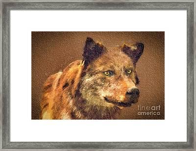 Leader Of The Pack Framed Print by David Millenheft
