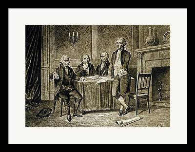 United States Government Drawings Framed Prints