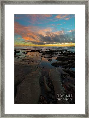 Leading To The Sea Framed Print