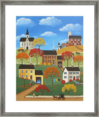 Leaf Day Framed Print