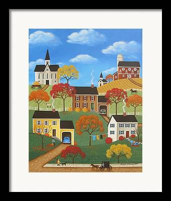 Pa Barns Framed Prints
