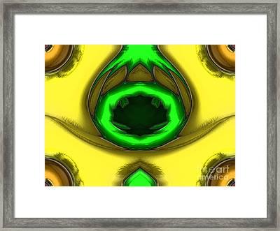 Leaf Drop Framed Print by Patrick Guidato