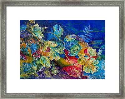 Leafin An Imprint Framed Print by Jo-Anne Gazo-McKim