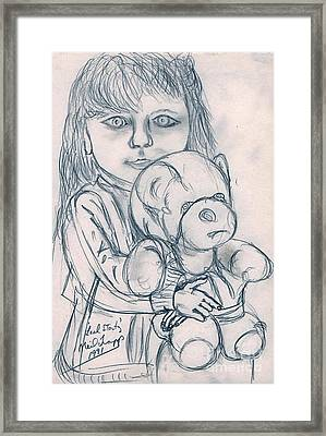 Leah Stortz Framed Print by Neil Trapp