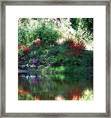 Leamings Run Pond 3 Framed Print by Kevin  Sherf