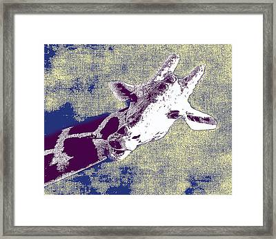 Lean In To It Framed Print