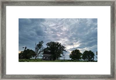 Lean Into It Framed Print by Caryl J Bohn