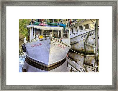 Lean On Me Framed Print by JC Findley