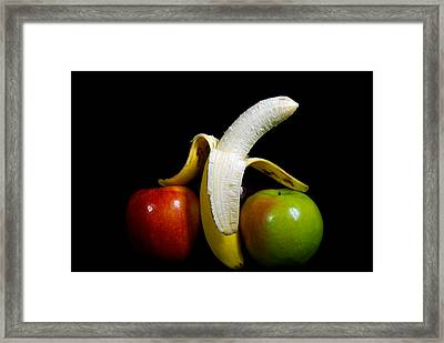 Lean On Me Framed Print by Maria Dryfhout