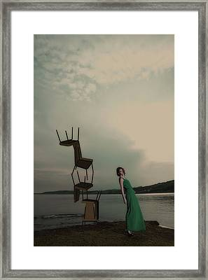 Lean On Me Framed Print