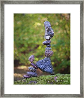 Lean On Framed Print