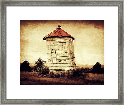 Leaning Tower Framed Print by Julie Hamilton