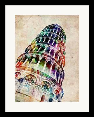 Pisa Framed Prints