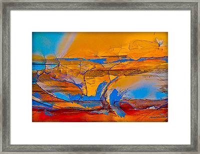 Leap Into The Sky Framed Print